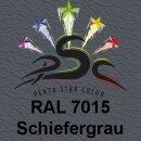 Lederfarbspray Schiefergrau 400 ml RAL 7015
