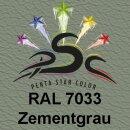 Vinylfarbspray Zementgrau 400 ml RAL 7033