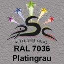 Lederfarbspray Platingrau 400 ml RAL 7036