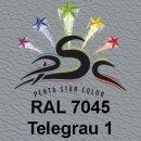 Lederfarbspray Telegrau 1 400 ml RAL 7045
