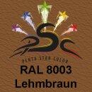 Lederfarbspray Lehmbraun 400 ml RAL 8003
