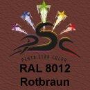 Lederfarbspray Rotbraun 400 ml RAL 8012