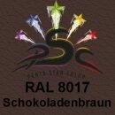 Lederfarbspray Schokoladenbraun 400 ml RAL 8017