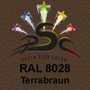 Lederfarbspray Terrabraun 400 ml RAL 8028