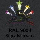 Lederfarbspray Signalschwarz 400 ml RAL 9004