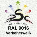 Lederfarbspray Verkehrsweiß 400 ml RAL 9016