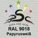 Lederfarbspray Papyrusweiß 400 ml RAL 9018